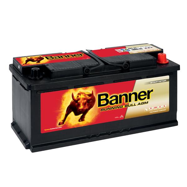 Akumulator 12V – 105 Ah – 950 A – 605 01 – Running Bull AGM